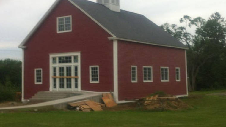 Completed Exterior of the Barn Creates Excitement