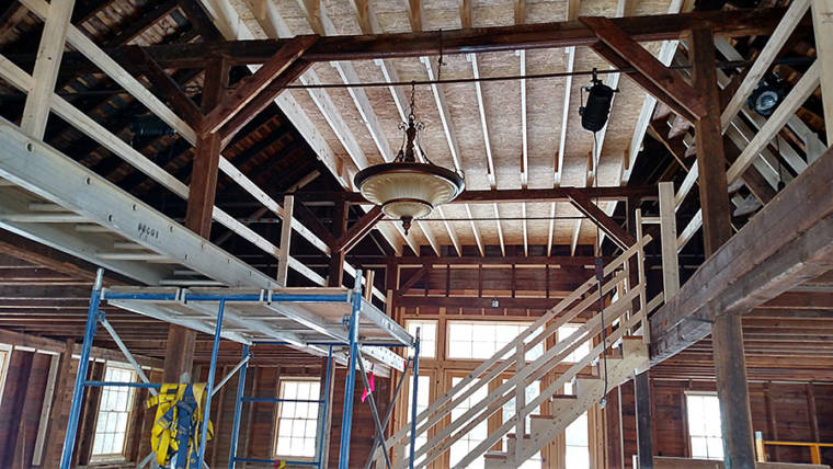 Interior Renovation of Red Barn at Fountain Park
