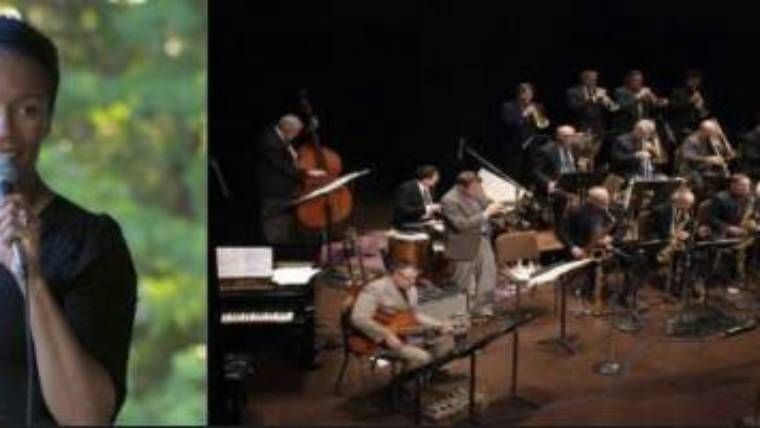 The Jeff Holmes Big Band with Dawning Holmes – Summer Concert Series – July 25th